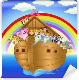 Vinyl-Fototapete Noah ark