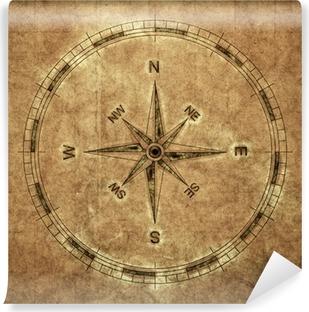 Vinyl-Fototapete Old Compass