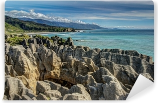 Vinyl-Fototapete Pancake Rocks, Punakaiki, West Coast, New Zealand