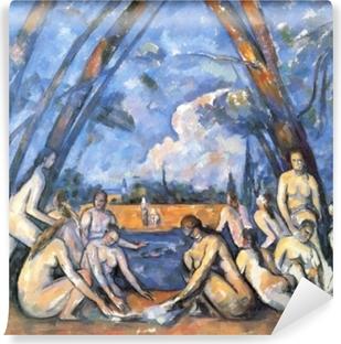 Vinyl-Fototapete Paul Cézanne - Badende