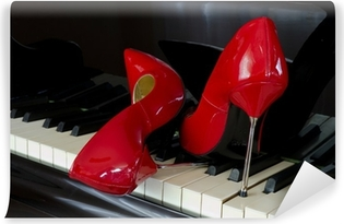 Vinyl-Fototapete Piano 8