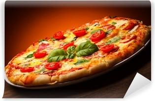 Vinyl-Fototapete Pizza