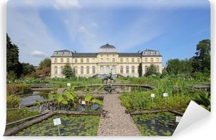 Vinyl-Fototapete Poppelsdofer Schloss und Botanischer Garten in Bonn
