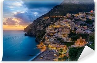 Vinyl-Fototapete Positano, Amalfi Coast, Italy