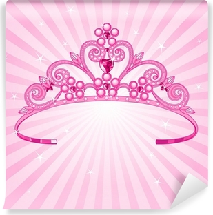 Vinyl-Fototapete Prinzessin Krone