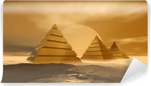Vinyl-Fototapete Pyramiden