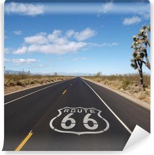 Vinyl-Fototapete Route 66 Mojave-Wüste