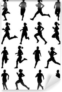 Running Girl Sticker Pixers We Live To Change
