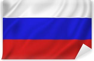 Vinyl-Fototapete Russland-Flagge