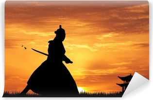 Vinyl-Fototapete Samurai