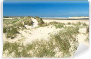 Vinyl-Fototapete Sanddünen an der Küste