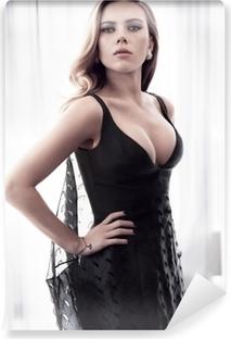 Vinyl-Fototapete Scarlett Johansson