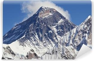 Vinyl-Fototapete Schneebedeckter Gipfel des Mount Everest