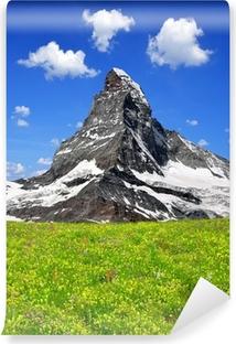 Vinyl-Fototapete Schöne Mount Matterhorn - Schweizer Alpen