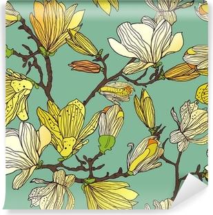 Vinyl-Fototapete Seamless floral Textur
