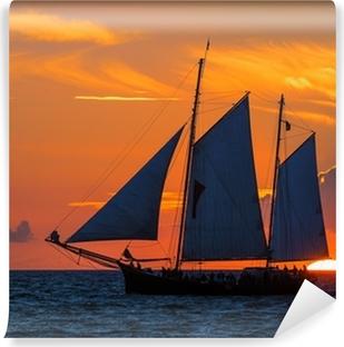 Vinyl-Fototapete Segelschiff auf der Ostsee zur Hanse Sail 2012.