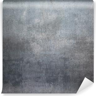 Vinyl-Fototapete Silber Metall Hintergrund