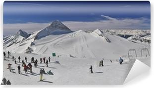 Vinyl-Fototapete Skigebiet im Zillertal