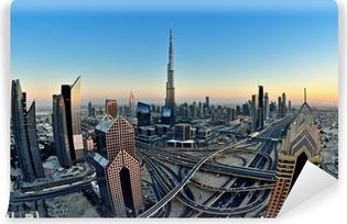 Vinyl-Fototapete Skyline von Dubai