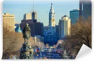 Vinyl-Fototapete Skyline von Philadelphia