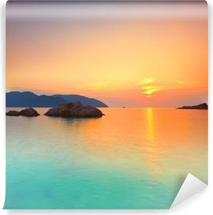 Vinyl-Fototapete Sonnenaufgang