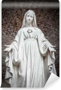 Vinyl-Fototapete Statue Unserer Lieben Frau