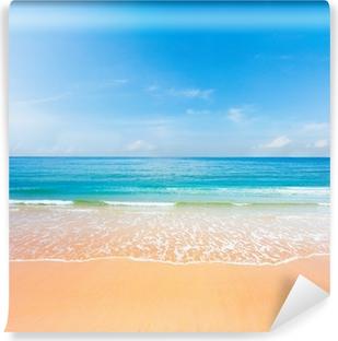 Vinyl Fototapete Strand Und Meer