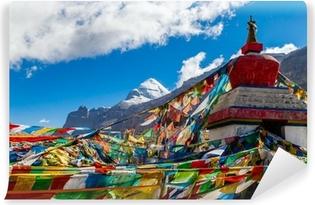 Vinyl-Fototapete Tibet. Mount Kailash. Südwand.