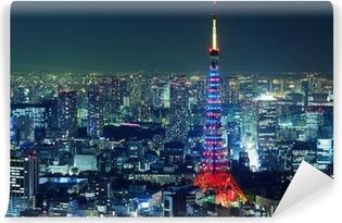 Vinyl-Fototapete Tokyo City