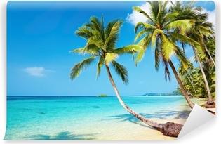 Vinyl-Fototapete Tropical beach