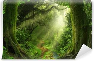 Vinyl-Fototapete Tropischer Dschungel