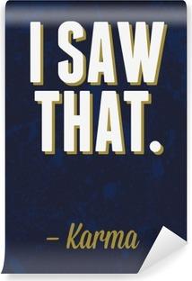 Vinyl-Fototapete Typografie Vektor-Illustration.
