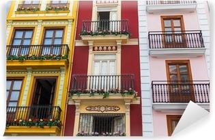 Vinyl-Fototapete Valencia Spanien Architektur