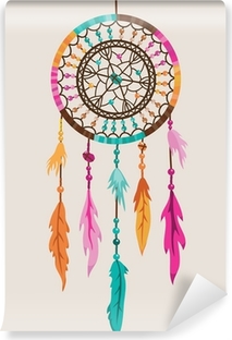 Vinyl-Fototapete Vector Dream Catcher