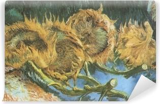 Vinyl-Fototapete Vincent van Gogh - Vier geschnittene Sonnenblumen