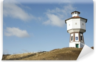Vinyl-Fototapete Wasserturm Langeoog