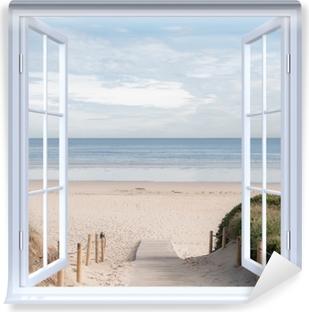 Blick Durch Das Fenster Fototapeten Pixers Wir Leben Um Zu