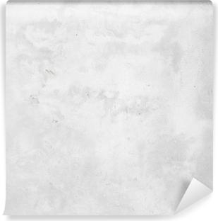 Vinyl-Fototapete Weißen Betonwand