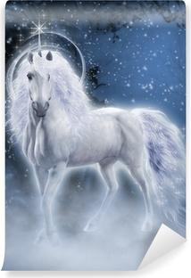 Vinyl-Fototapete White Unicorn 3D-Computergrafik