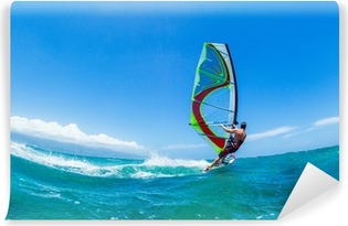 Vinyl-Fototapete Wind surfing