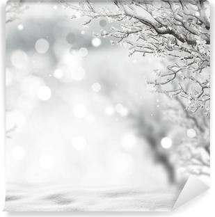 Vinyl-Fototapete Winter Background