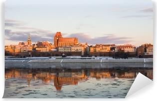 Vinyl-Fototapete Winter-Panorama von Torun