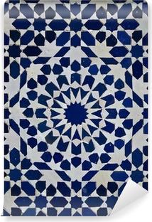 Vinyl-Fototapete Zellige marokkanischen Fliesen-Muster