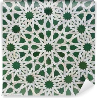 Vinyl Fototapete Zellige Marokkanischen Fliesen Muster