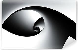 Fototapet av Vinyl 3D abstrakt spiral
