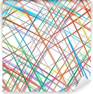 Fototapet av Vinyl Abstrakt färg ränder bakgrund