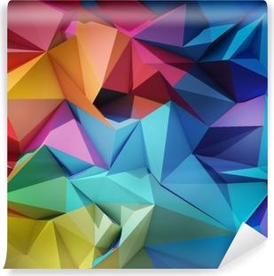 Fototapet av Vinyl Abstrakt geometrisk bakgrund