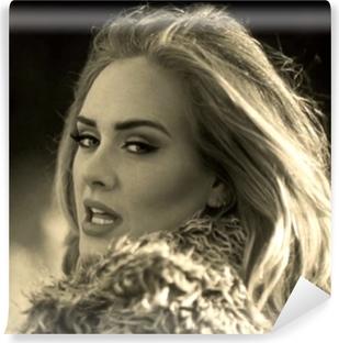 Adele Vinyl fototapet