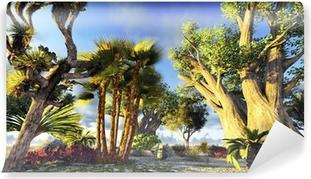 Fototapet av Vinyl Afrikanska baobabs