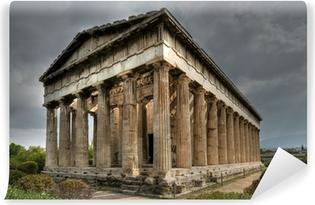 Ancient Temple of Hephaistos, Athens Vinyl fototapet